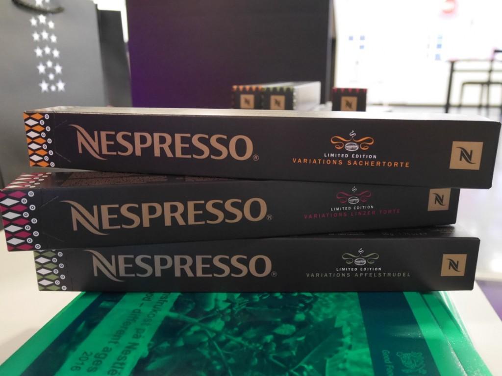 Nya tillfälliga Nespresso-sorter lagom till jul.