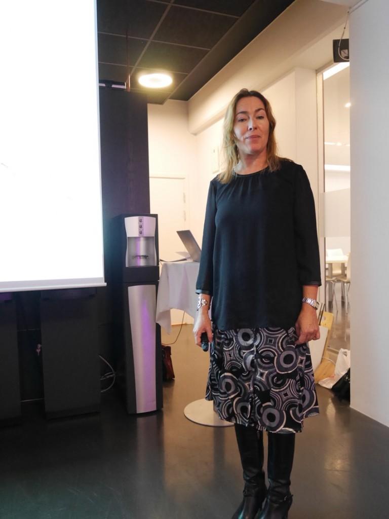Annelie Barkelund kommunikationschef på Nestlé