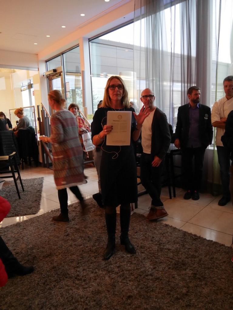 Eva Camél Fuglseth, tf vd på Destination Sigtuna, berättar om varför hotellen i Sigtuna satt hållbarhetsfrågan i första rummet och vad som görs för att göra skillnad.