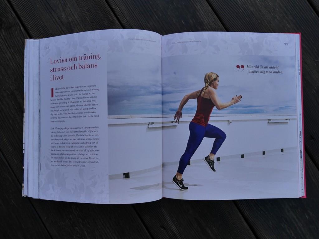 Lovisa om träning, stress och balans.