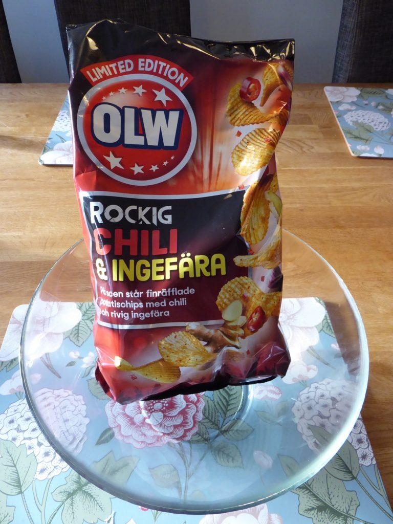 Rockig Chili & ingefära