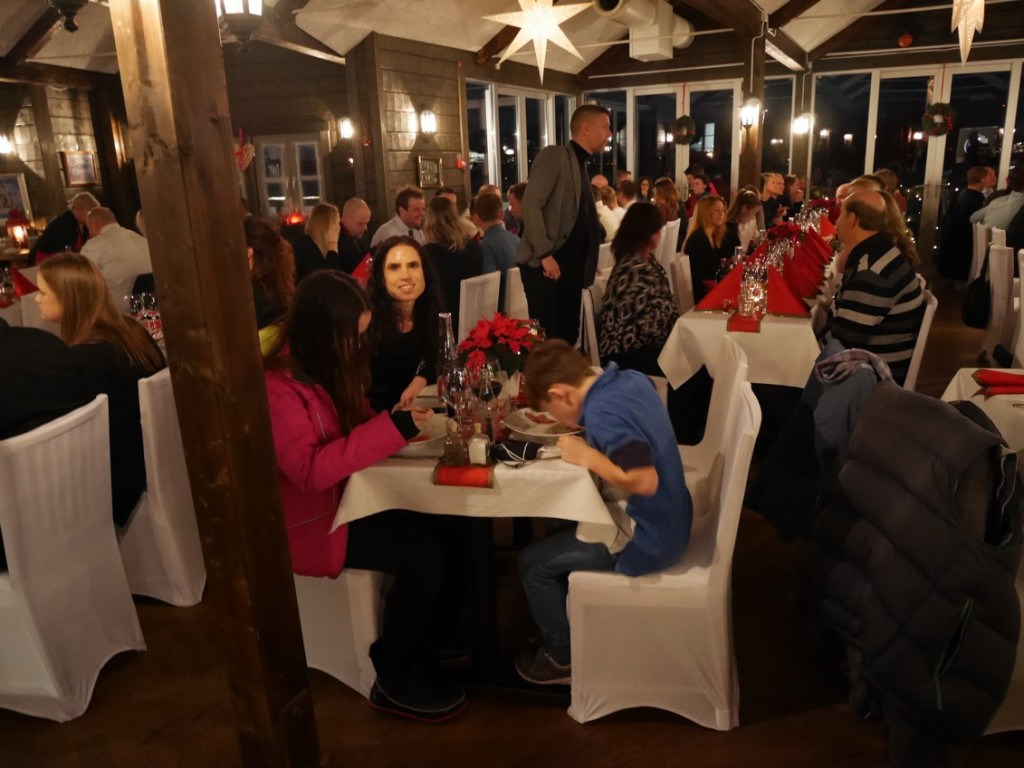 Restaurangen är mycket populär så boka bord i tid!