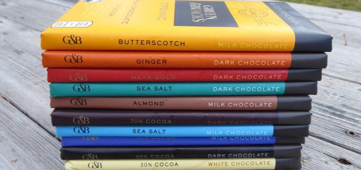 Ekologiska chokladkakor från Green & Black's