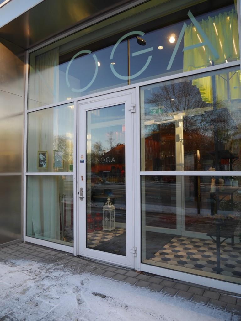 Fazers restaurang och matlagningsstudio NOGA på Lindhagensgatan i Stockholm.