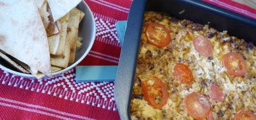 Nyttig tacogratäng med hemgjorda nachochips