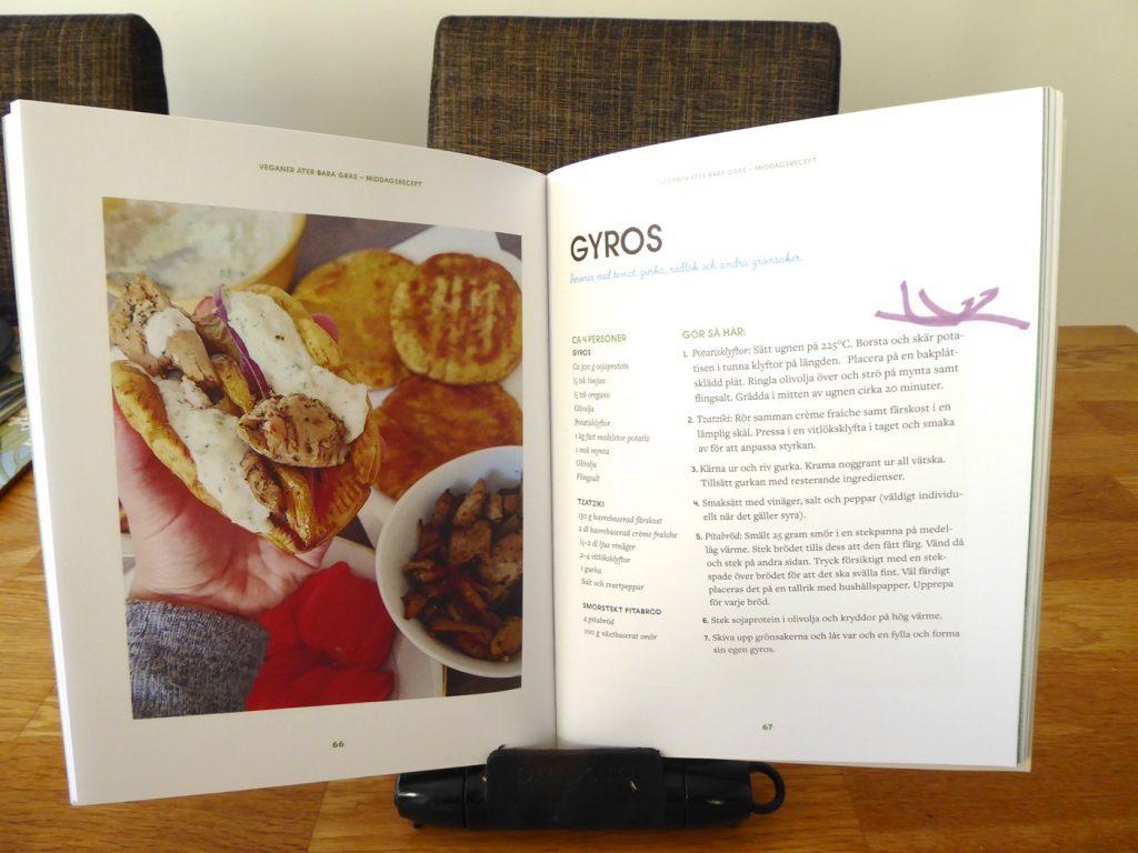 Recept på Gyros