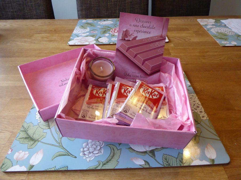 Rosa paket med rosa innehåll!