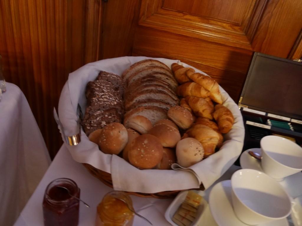 Olika sorters bröd.