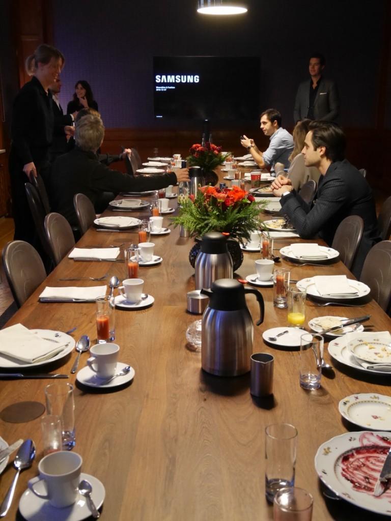 Pressfrukosten ägde rum på Nobis Hotell i centrala Stockholm.