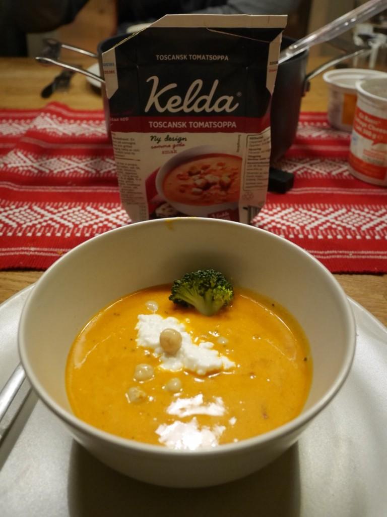 Pimpa din Kelda soppa för mer mättande resultat.
