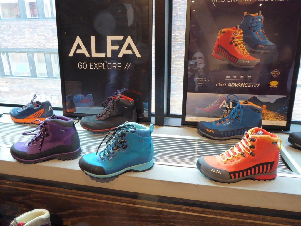 Skor från Alfa.