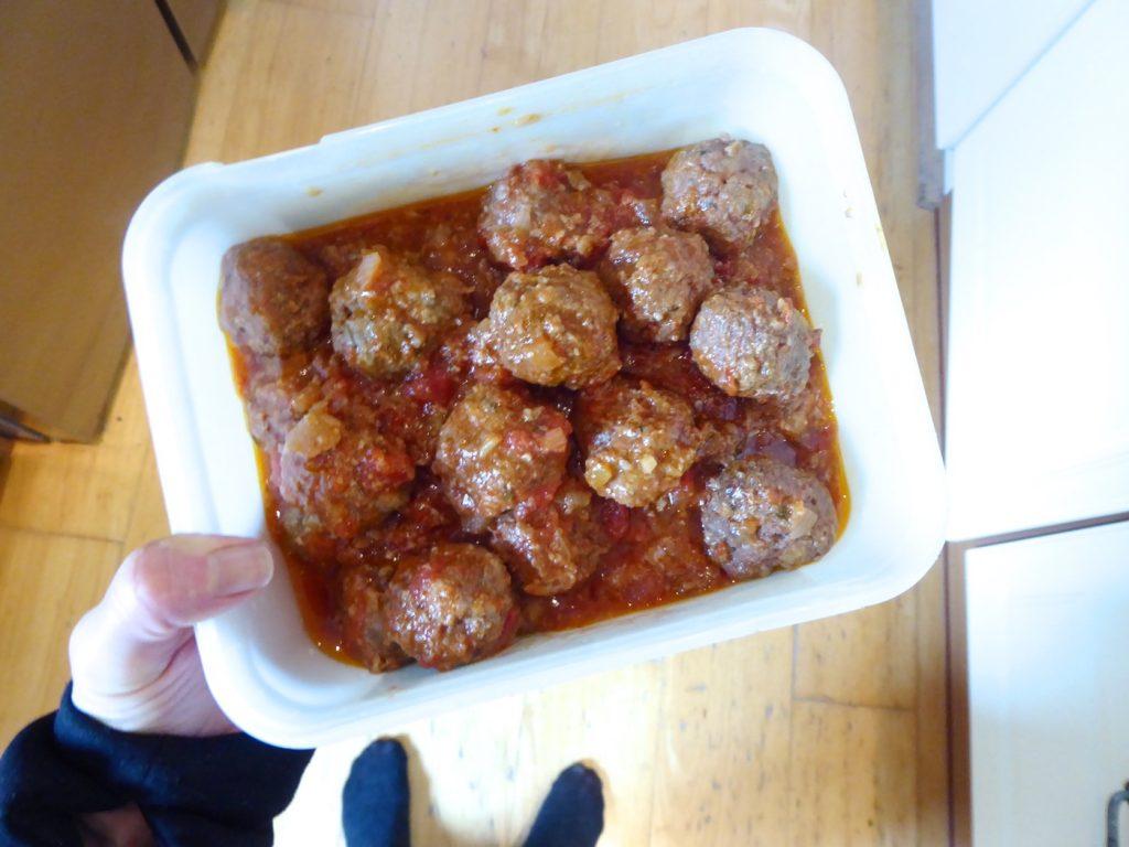 Idag förberedde jag Påskköttbullar i Crock Pot