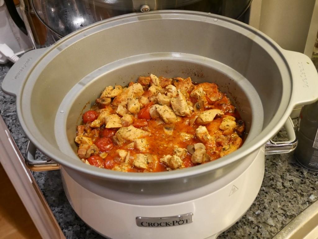 Godaste kycklinggrytan i Crock-Pot
