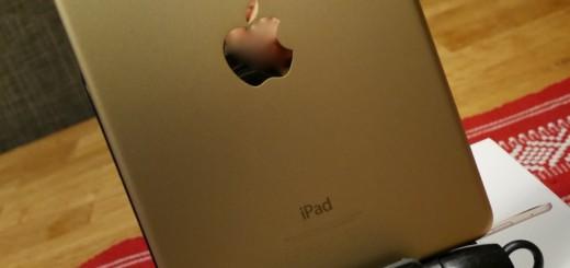 Älskar guldfärgen! Har den även på min vanliga iPad sedan tidigare!