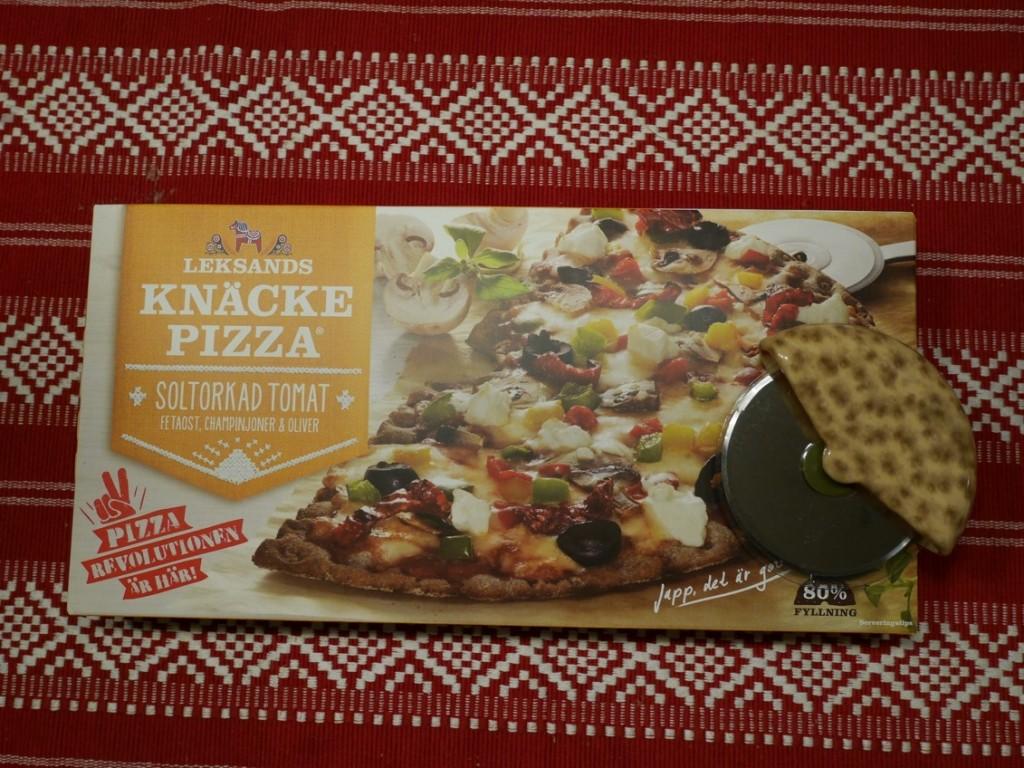 Knäckepizza från Leksands Knäckebröd