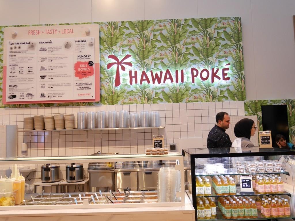 Hawaii Poké i Gallerian.