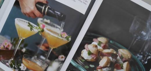 En vacker drink och aptitretare blir en lyxig start!