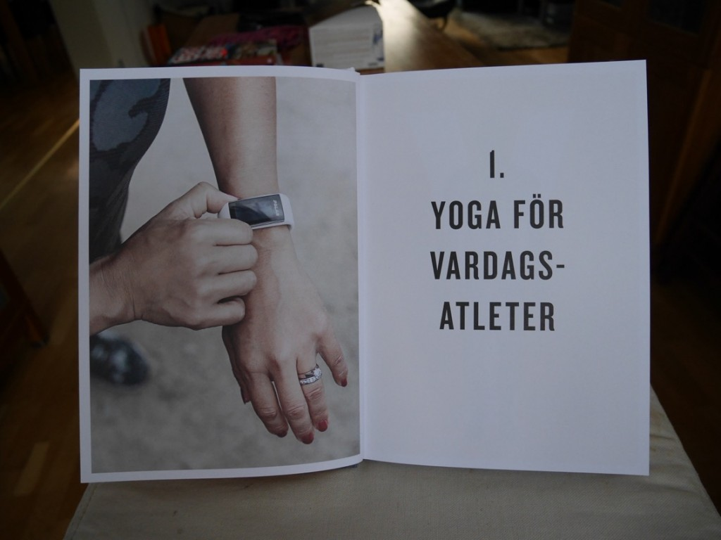 Boken är uppdelad på grenarna längdskidåkning, cykling, simning, löpning och styrketräning.