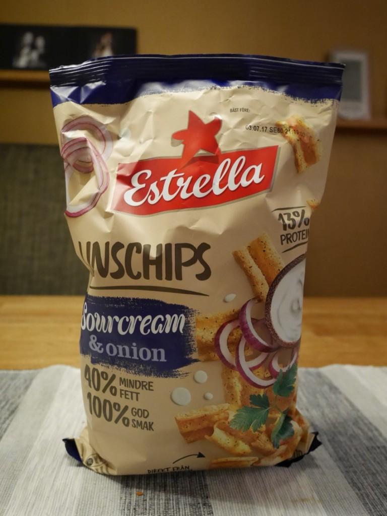 Estrella Linschips Sourcream & Onion