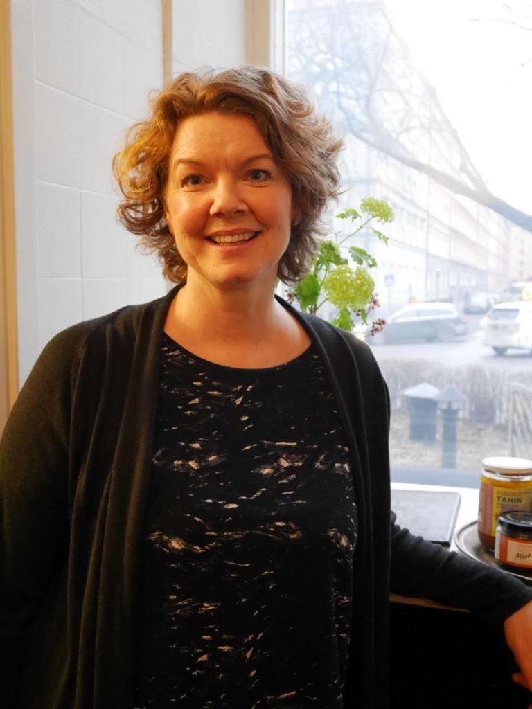 Författare och näringsterapeut Cecilia Davidsson