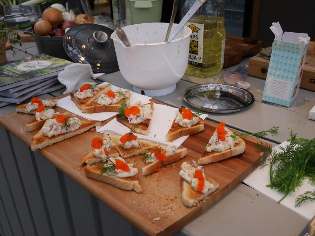 Vegansk Toast Skagen.