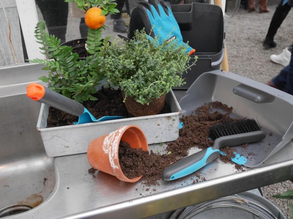 Snart dags att plantera med redskap från Gardena.