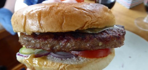 Godaste, saftigaste hamburgaren du kan tänka dig!