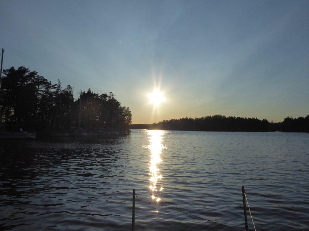Vacker solnedgång!