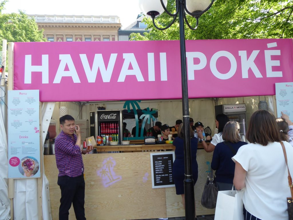 En av mina favoriter, Hawaii Poke.