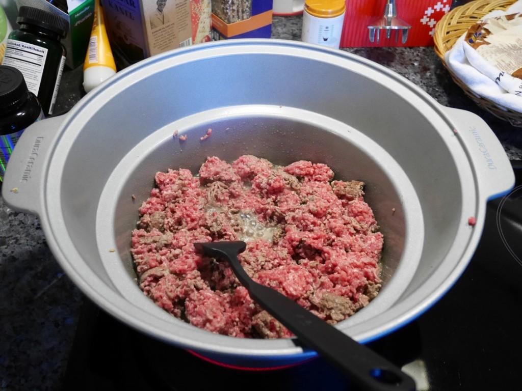 Bästa sättet att tillaga köttfärssås är i Crock-Pot.