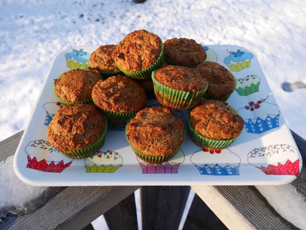 Supergoda glutenfria muffins utan tillsatt socker