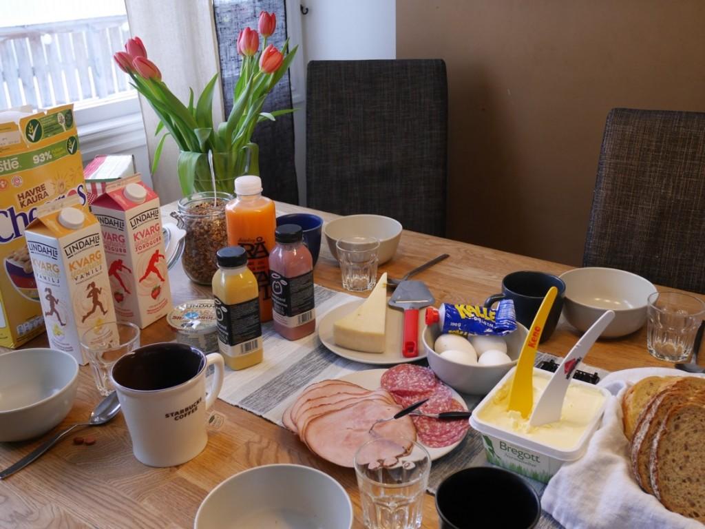 En god och mättande frukost med extra allt!