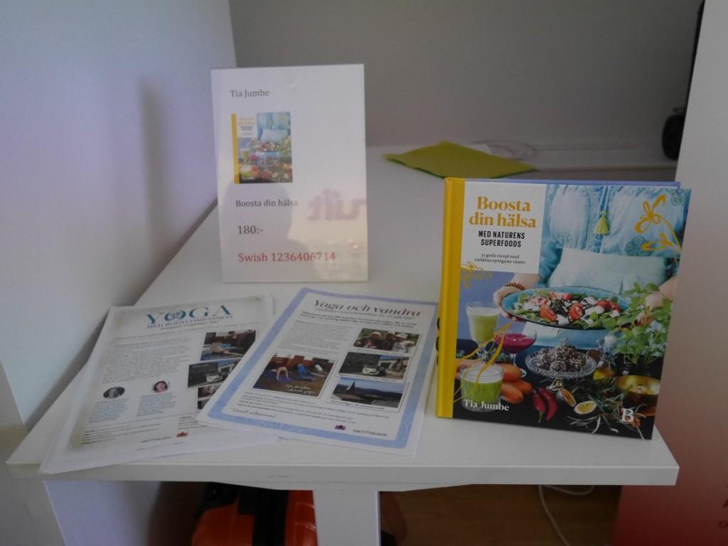 Pia har gett ut flera böcker.