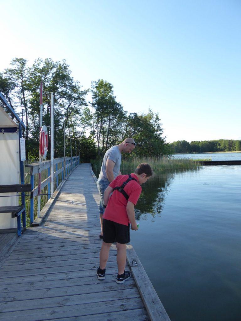 Dessa killar älskar att fiska!