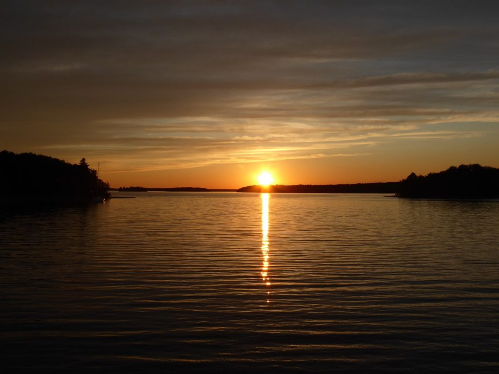 Magiska solnedgångar!