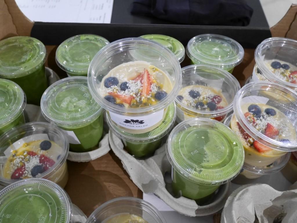 Underbar frukost från Doctor Salad.