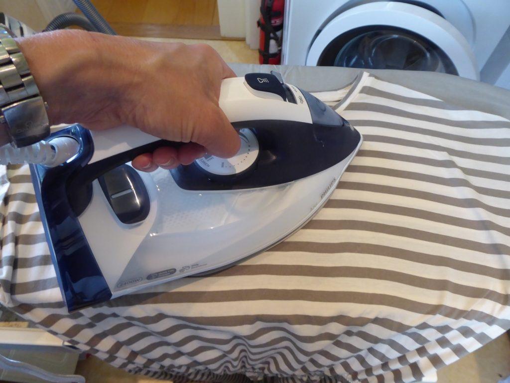 Nu blev det lekande lätt att stryka!