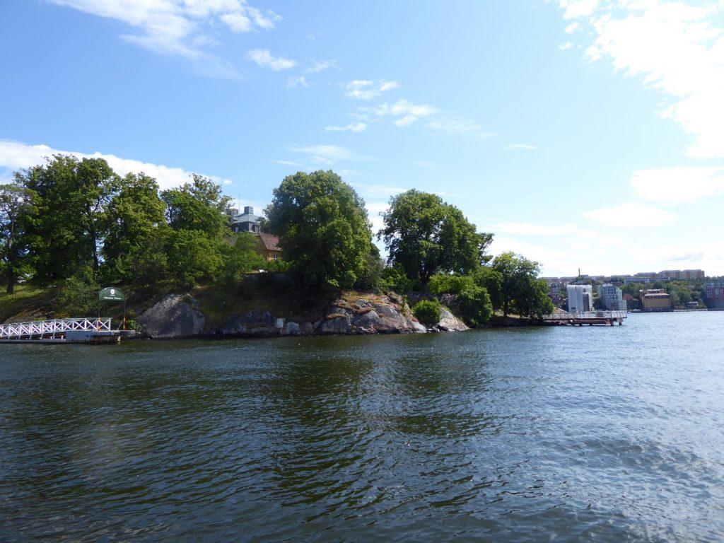 Vacker utsikt mot Waldemars udde.