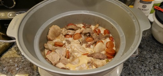 Färdig Kreolsk gryta i Crock-Pot