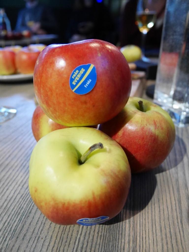 Svenska äpplen!