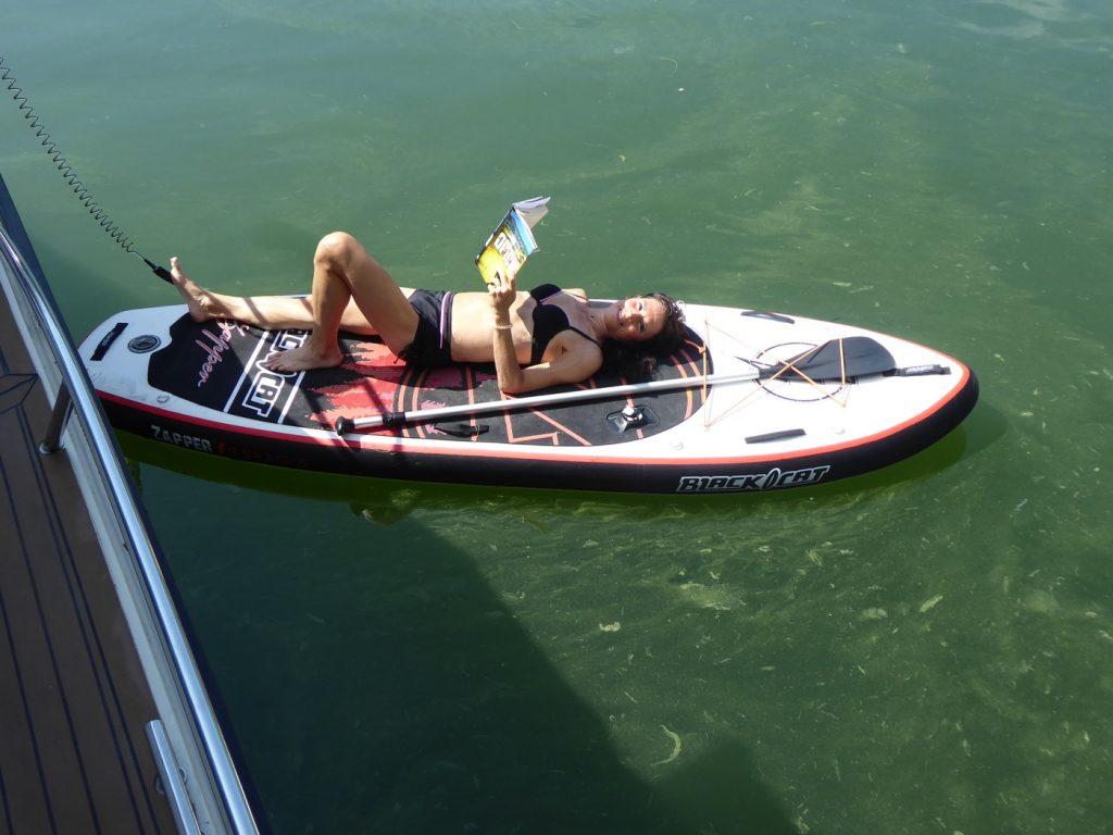 Jag älskar båtlivet!