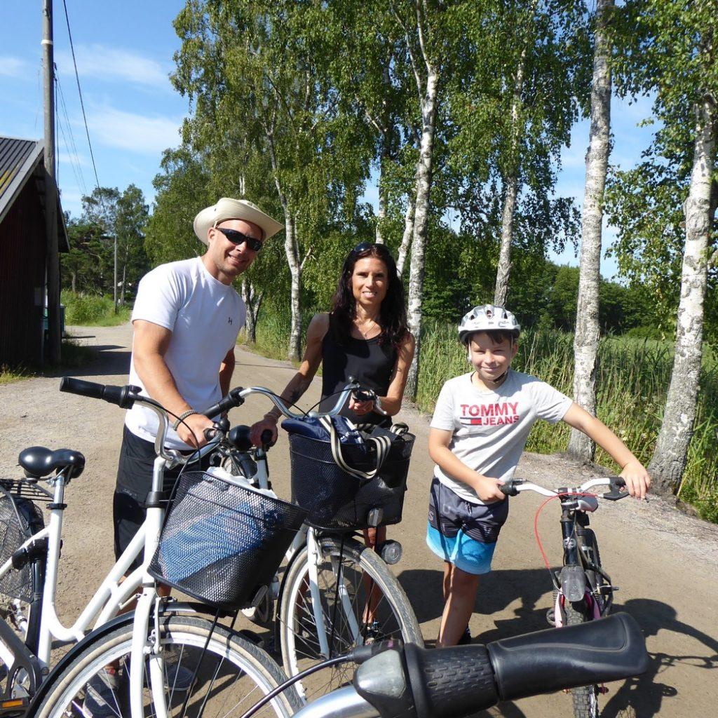 Dags för cykelutflykt.