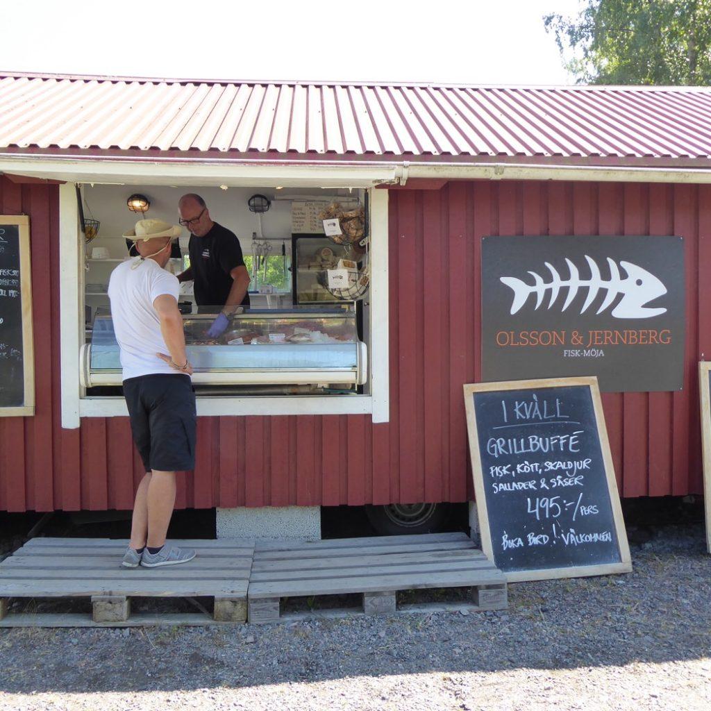 Lyx att handla färsk fisk och skaldjur.