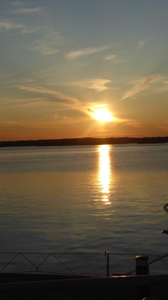 En av alla magiska solnedgångar.