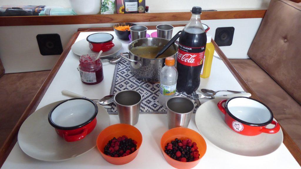 Ärtsoppa och pannkaka