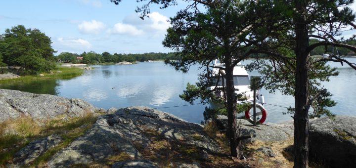 Naturhamn Grönskärsfladen vid Jungfruskär