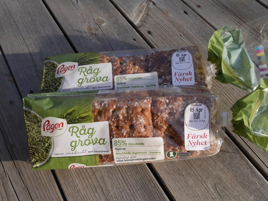 Nyttigt portionsbröd, RågGrova.