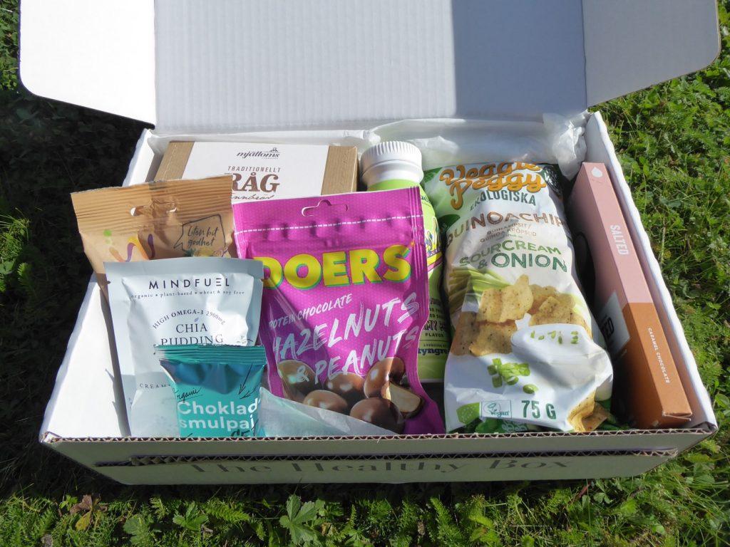 I priset ingick dessutom en The Healthy Box.
