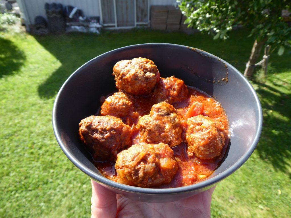 Smakrika köttbullar i tomatsås!