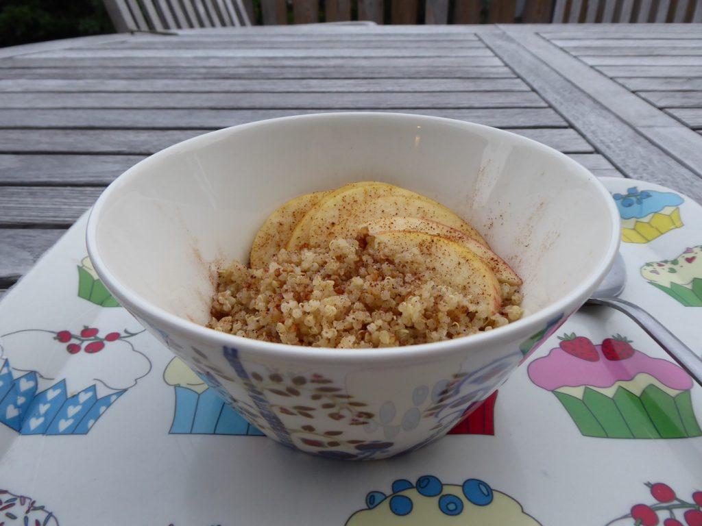 Magisk quinoagröt med äpple och kokos i Crock Pot Express
